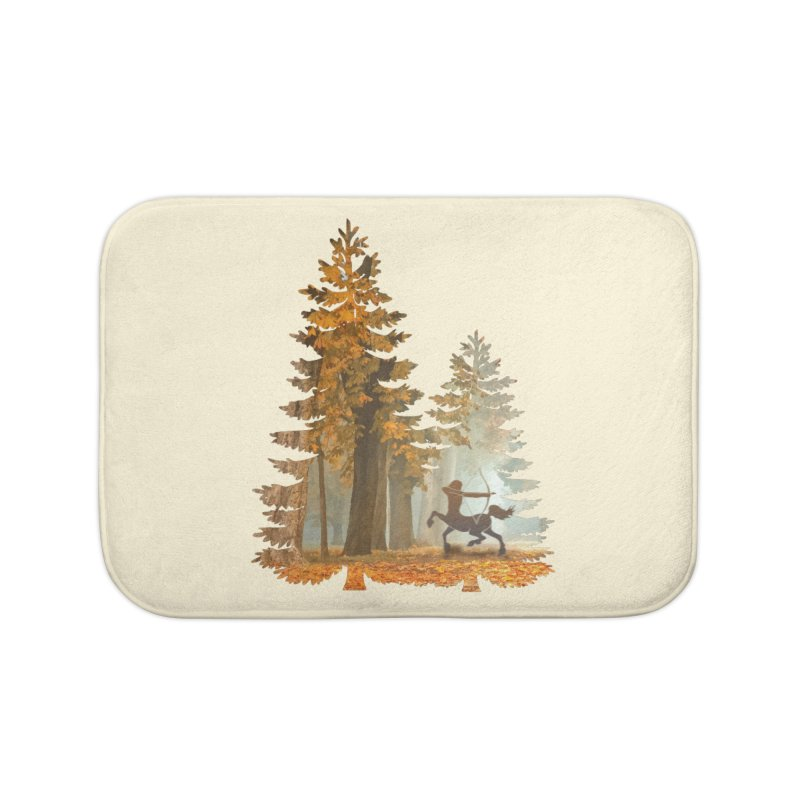 Mystic Hunt Home Bath Mat by Ferine Fire