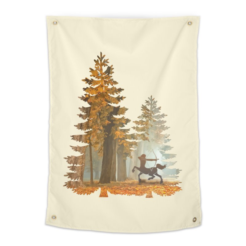Mystic Hunt Home Tapestry by Ferine Fire