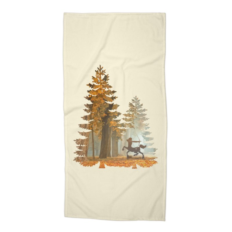 Mystic Hunt Accessories Beach Towel by Ferine Fire