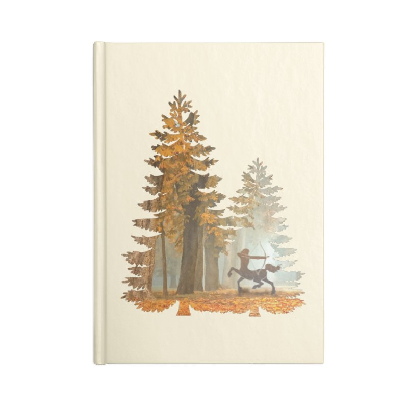 Mystic Hunt Accessories Lined Journal Notebook by Ferine Fire