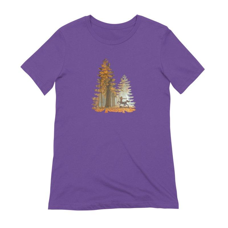 Mystic Hunt Women's Extra Soft T-Shirt by Ferine Fire