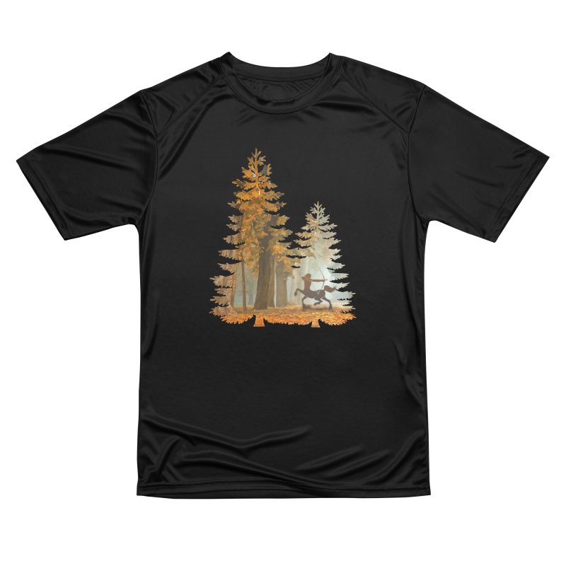 Mystic Hunt Men's Performance T-Shirt by Ferine Fire
