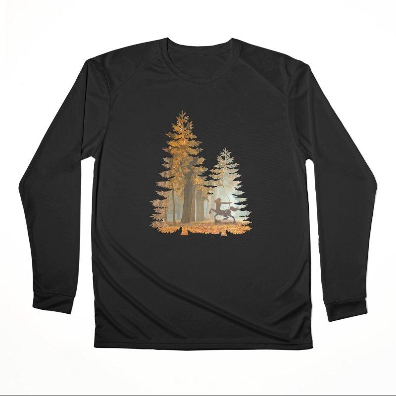 Mystic Hunt Women's Performance Unisex Longsleeve T-Shirt by Ferine Fire