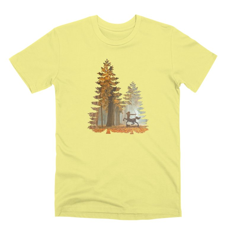 Mystic Hunt Men's Premium T-Shirt by Ferine Fire