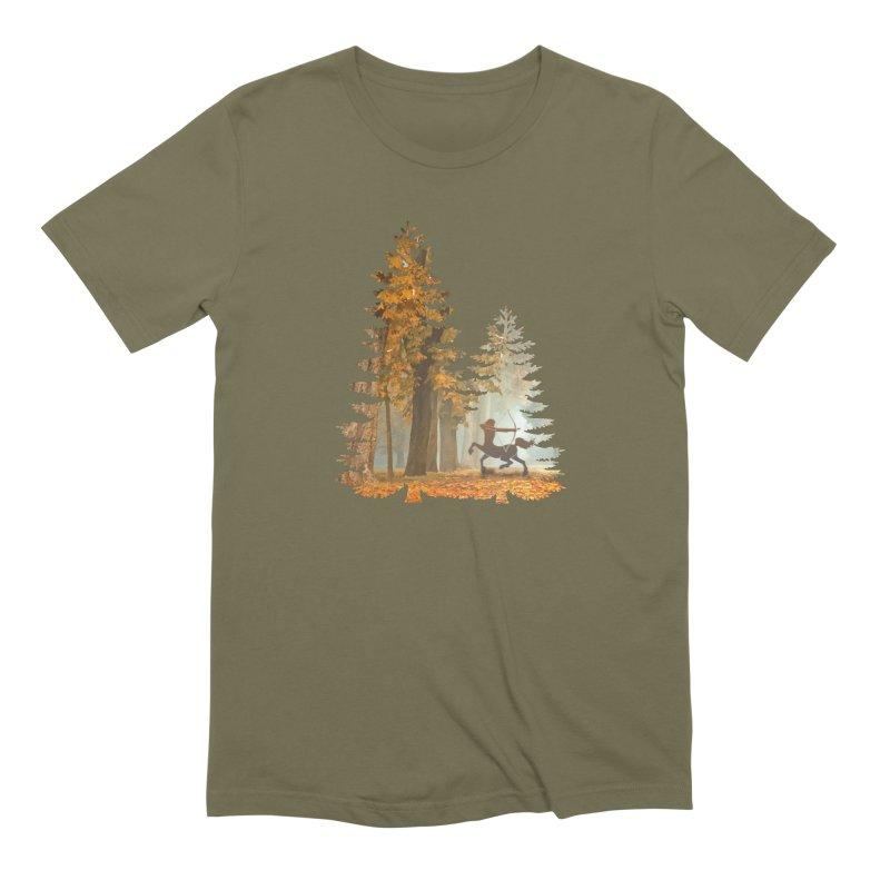 Mystic Hunt Men's Extra Soft T-Shirt by Ferine Fire