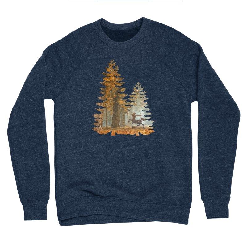 Mystic Hunt Men's Sponge Fleece Sweatshirt by Ferine Fire