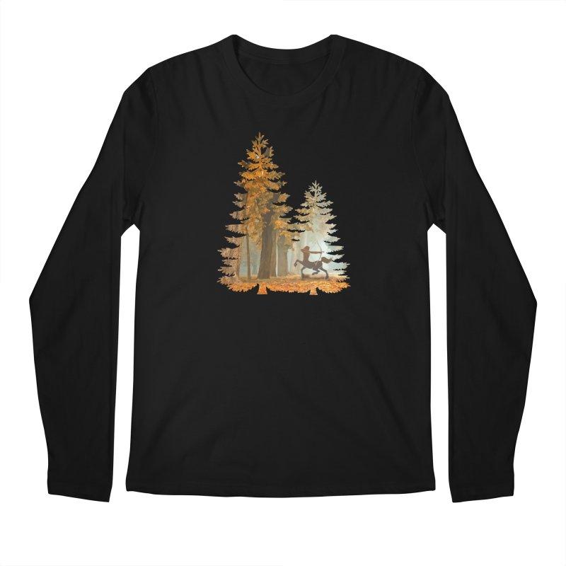 Mystic Hunt Men's Regular Longsleeve T-Shirt by Ferine Fire