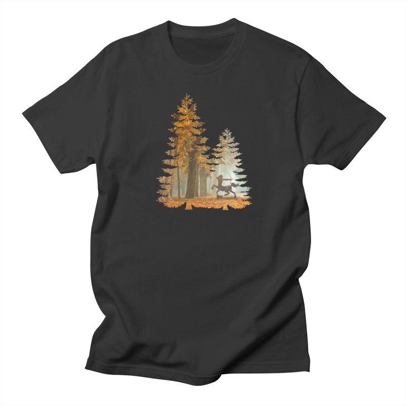 Mystic Hunt Men's Regular T-Shirt by Ferine Fire