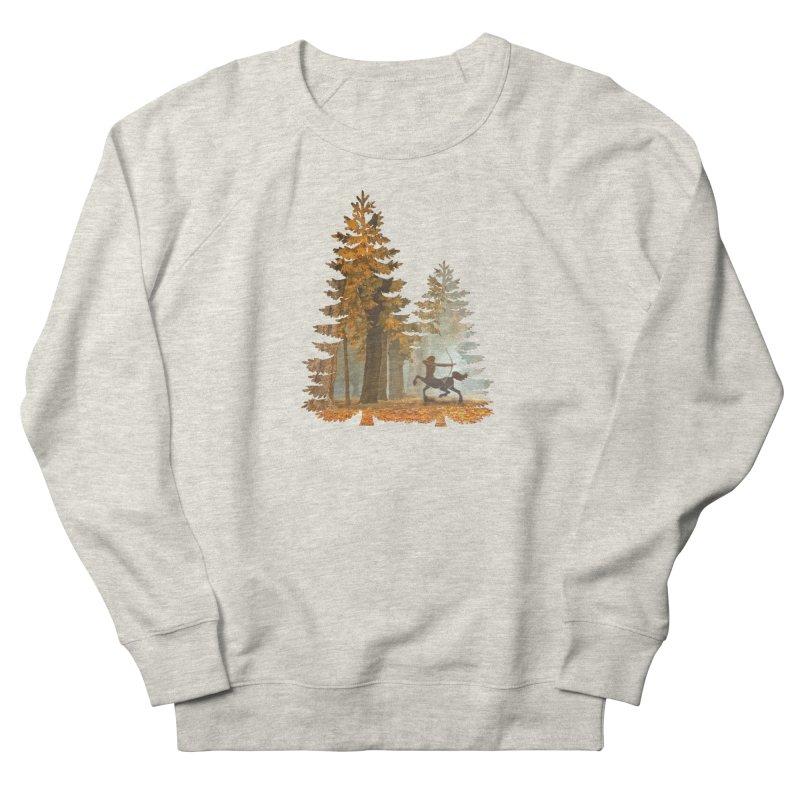 Mystic Hunt Women's French Terry Sweatshirt by Ferine Fire