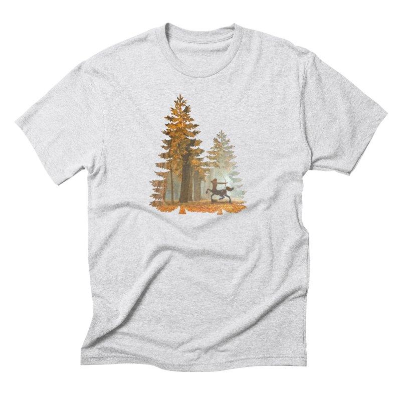 Mystic Hunt Men's Triblend T-Shirt by Ferine Fire