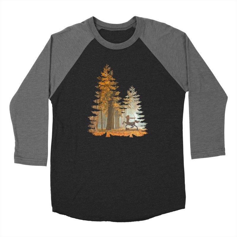 Mystic Hunt Men's Baseball Triblend Longsleeve T-Shirt by Ferine Fire