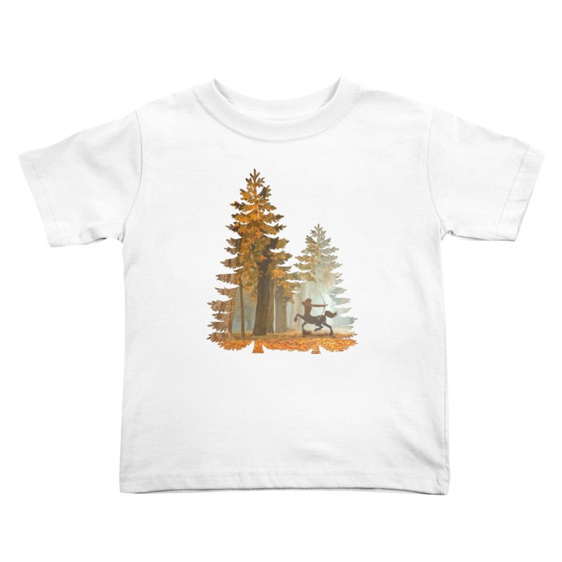 Mystic Hunt Kids Toddler T-Shirt by Ferine Fire