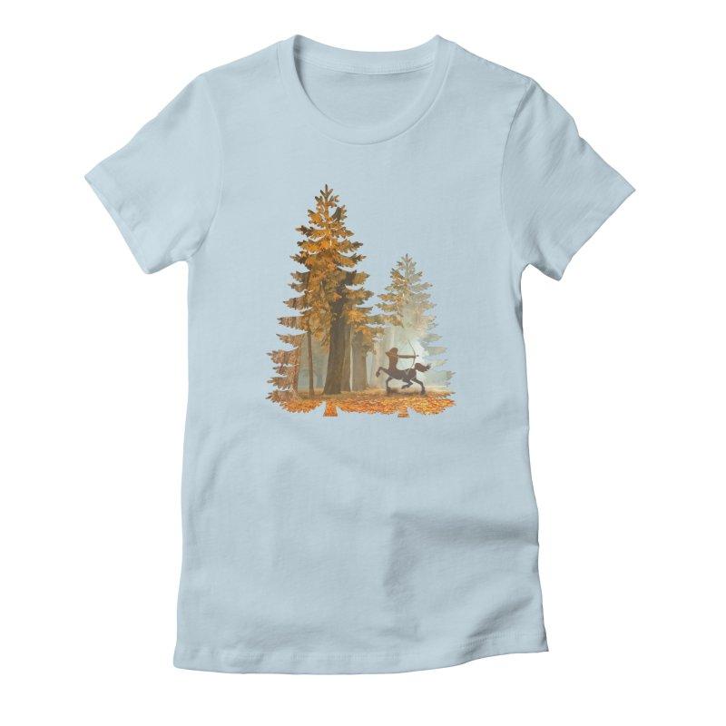 Mystic Hunt Women's T-Shirt by Ferine Fire