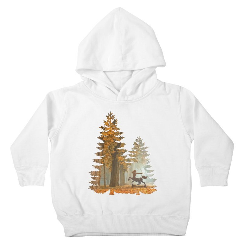 Mystic Hunt Kids Toddler Pullover Hoody by Ferine Fire