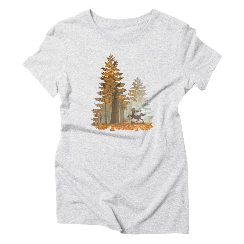 Mystic Hunt Women's Triblend T-Shirt by Ferine Fire