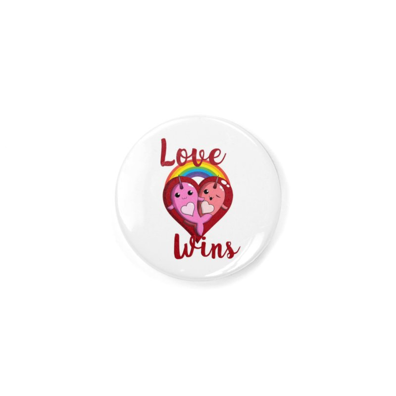 Love Wins Accessories Button by Ferine Fire