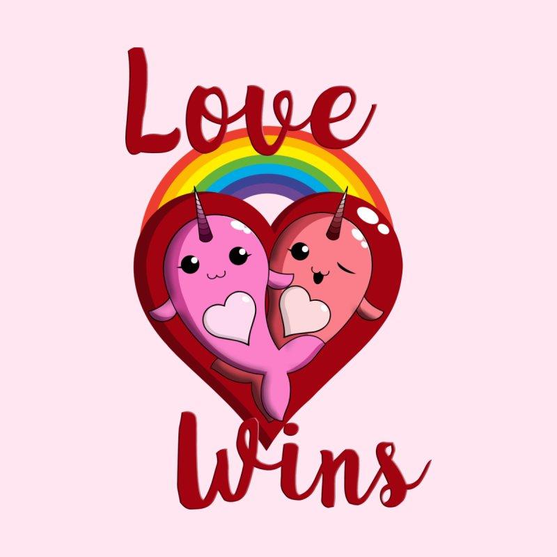 Love Wins Women's T-Shirt by Ferine Fire