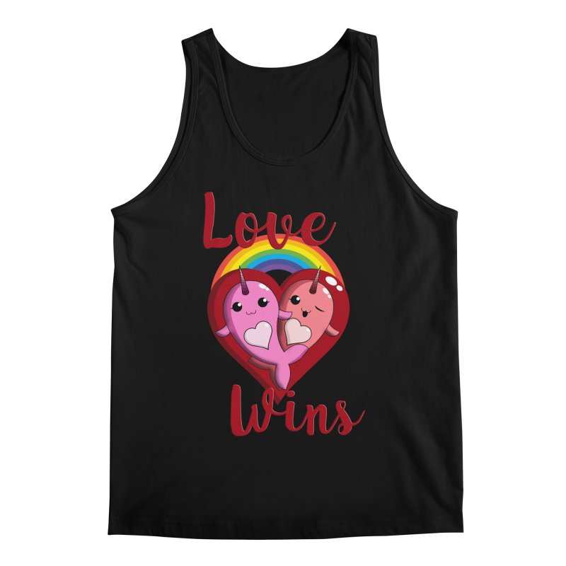 Love Wins Men's Regular Tank by Ferine Fire