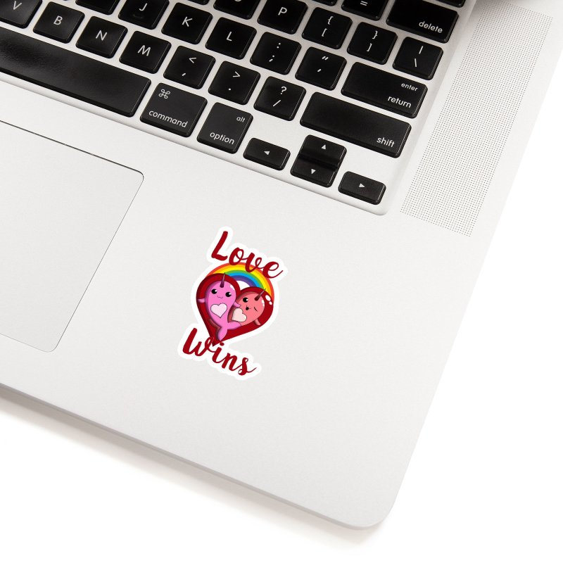 Love Wins Accessories Sticker by Ferine Fire