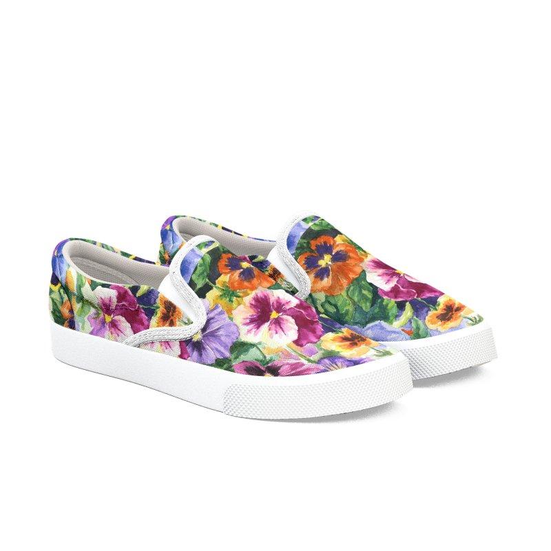 Little Sip Women's Slip-On Shoes by Ferine Fire
