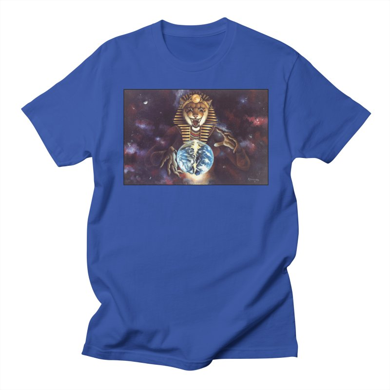 The Second Coming Men's T-Shirt by Ferine Fire