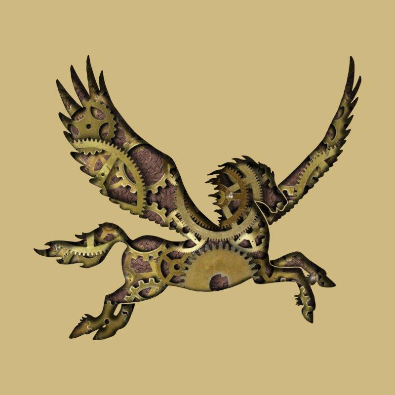 Clockwork Pegasus   by Ferine Fire