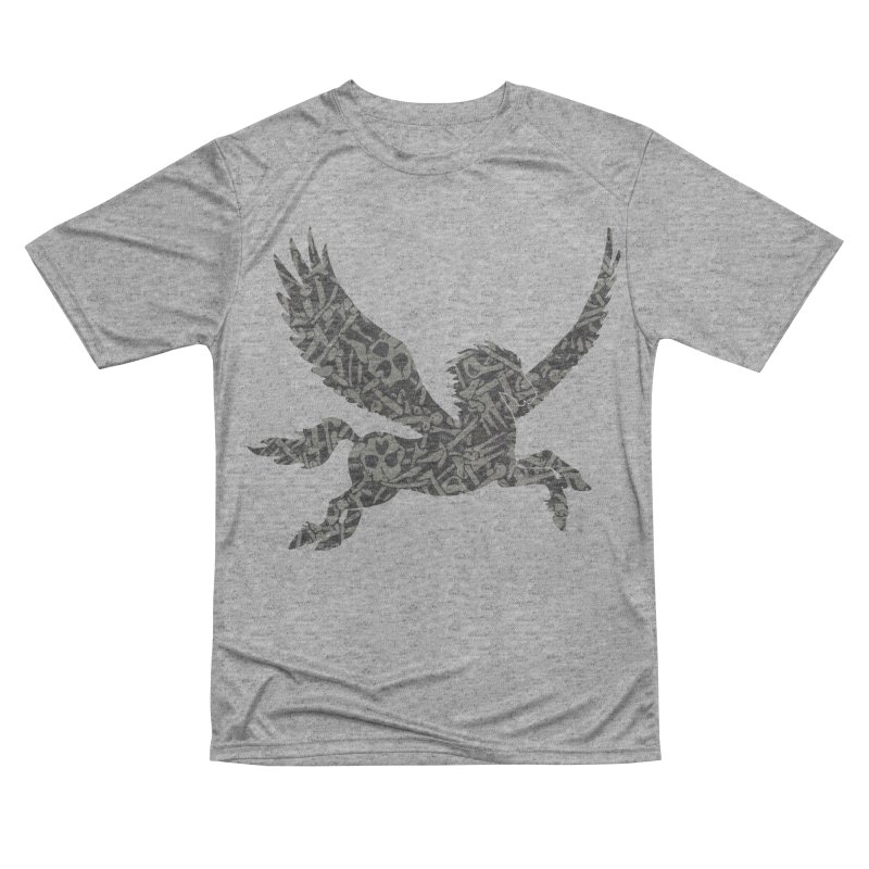 Dark Horse Pegasus Women's Performance Unisex T-Shirt by Ferine Fire