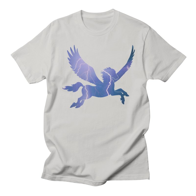 Pegasus - The Coming Storm Men's T-Shirt by Ferine Fire