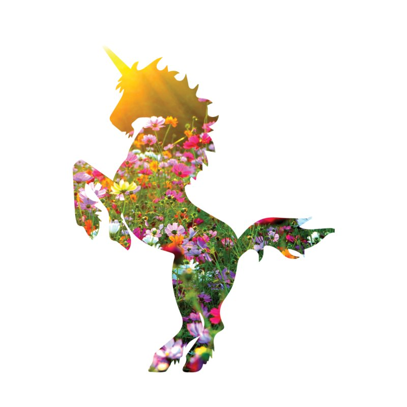 Field of Flowers Unicorn   by Ferine Fire