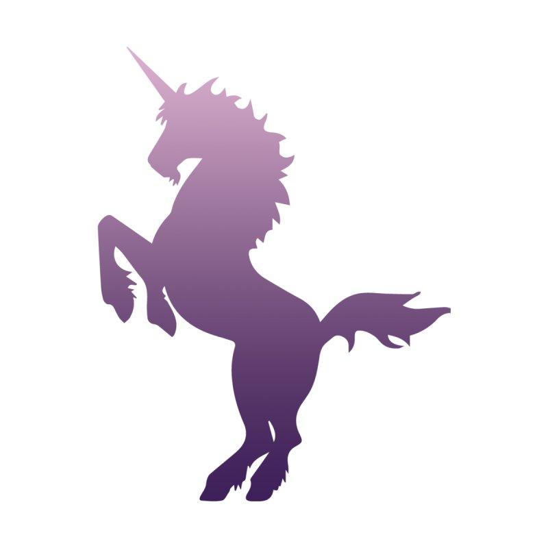 Purple Unicorn Silhouette   by Ferine Fire