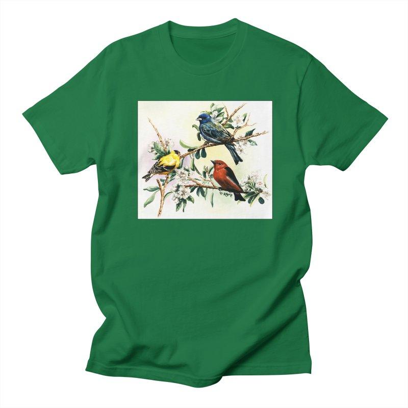Songbirds Men's T-Shirt by Ferine Fire
