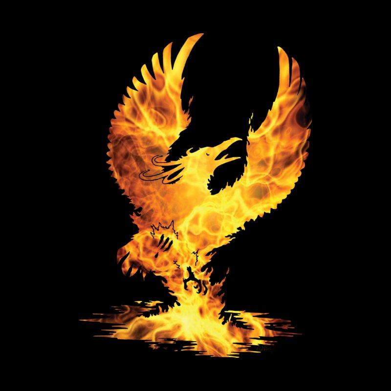 Phoenix Fire Silhouette by Ferine Fire