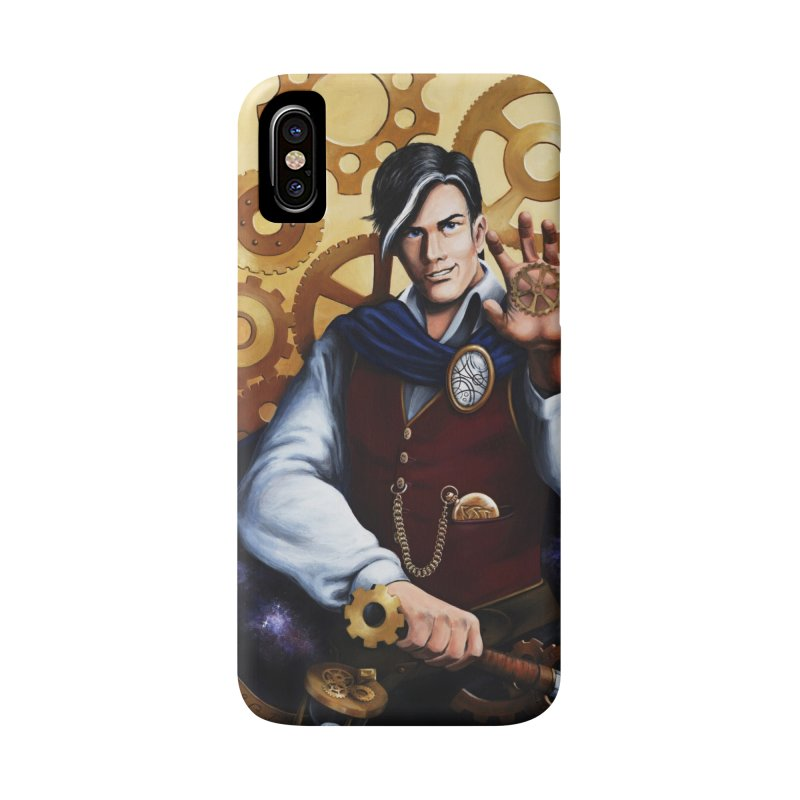 Chronomancy Accessories Phone Case by Ferine Fire