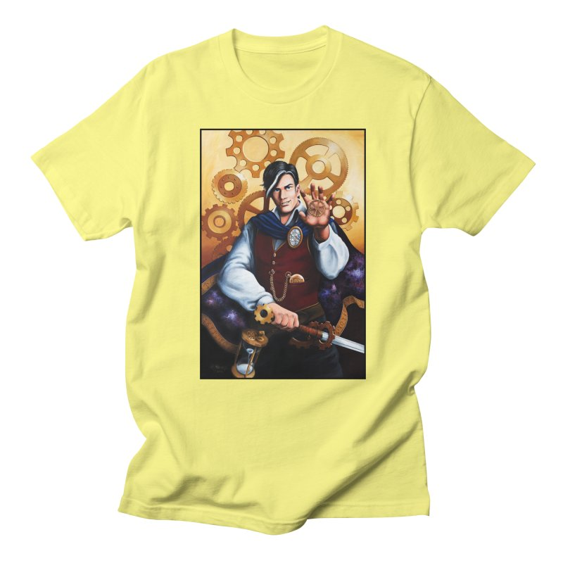 Chronomancy Men's T-Shirt by Ferine Fire