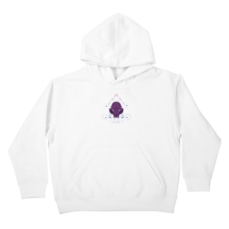 Purple Chumplung Kids Pullover Hoody by feringrh's Artist Shop