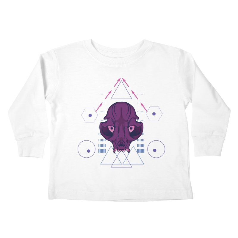 Purple Chumplung Kids Toddler Longsleeve T-Shirt by feringrh's Artist Shop