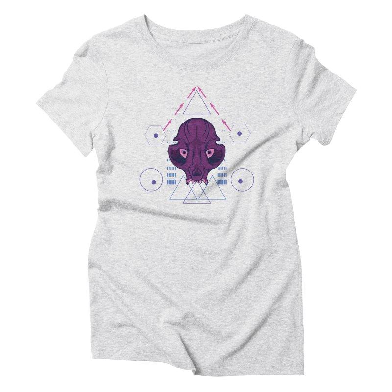 Purple Chumplung Women's Triblend T-Shirt by feringrh's Artist Shop