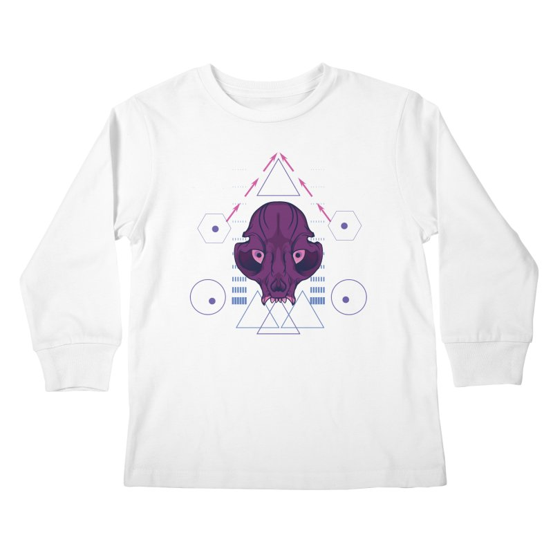Purple Chumplung Kids Longsleeve T-Shirt by feringrh's Artist Shop