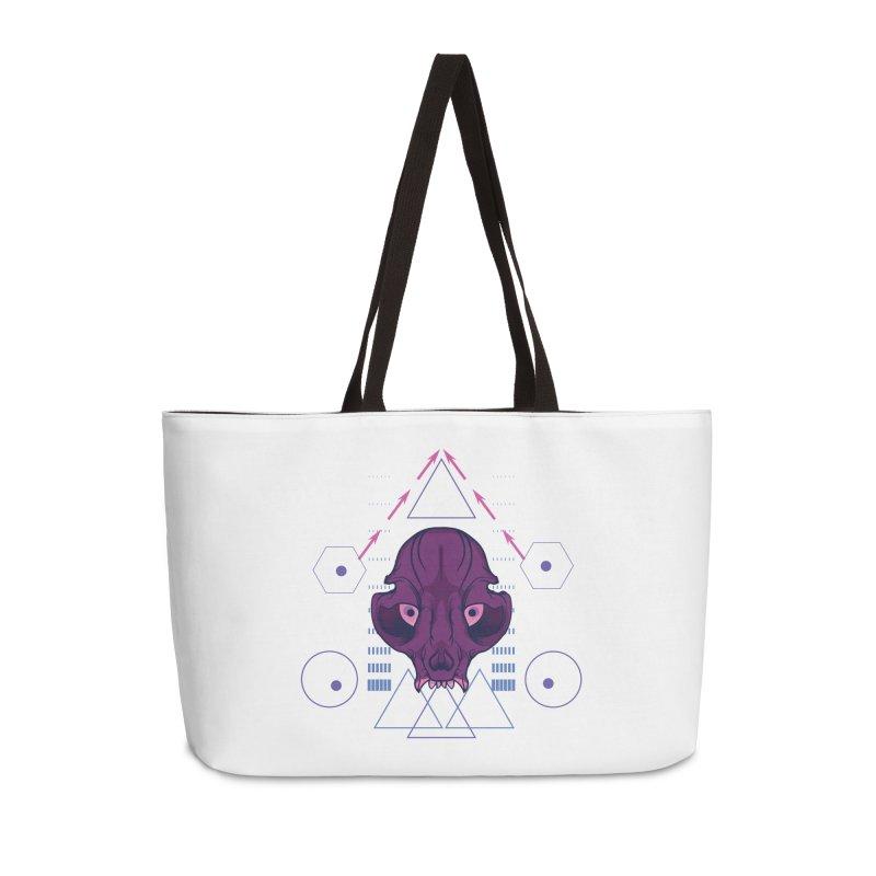 Purple Chumplung Accessories Weekender Bag Bag by feringrh's Artist Shop