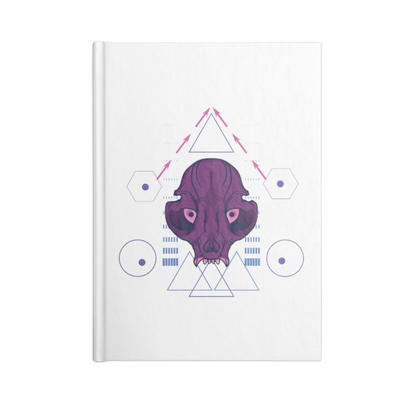 Purple Chumplung Accessories Blank Journal Notebook by feringrh's Artist Shop