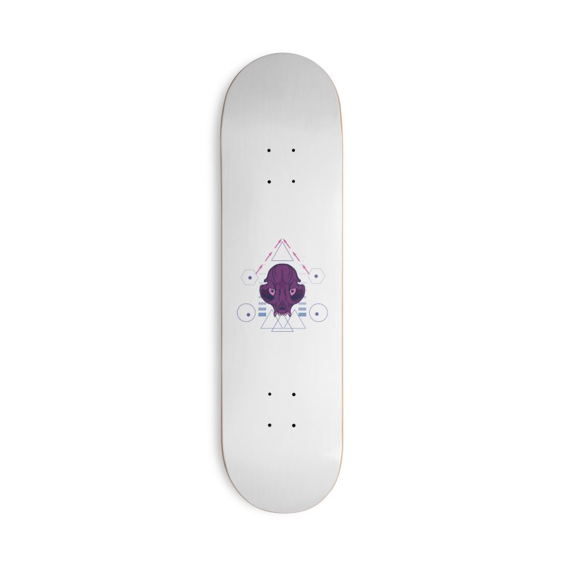 Purple Chumplung Accessories Skateboard by feringrh's Artist Shop