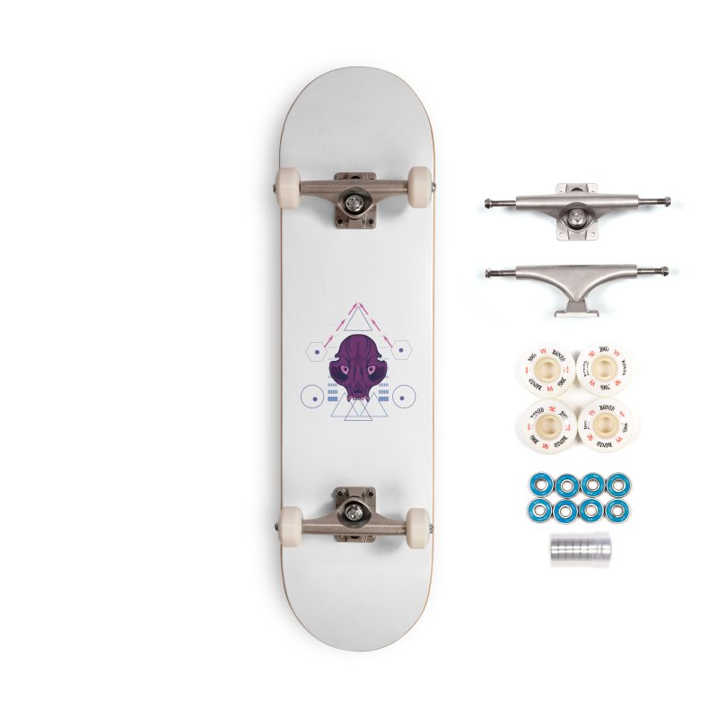 Purple Chumplung Accessories Complete - Premium Skateboard by feringrh's Artist Shop