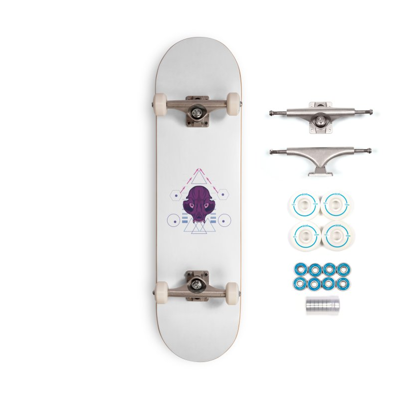 Purple Chumplung Accessories Complete - Basic Skateboard by feringrh's Artist Shop