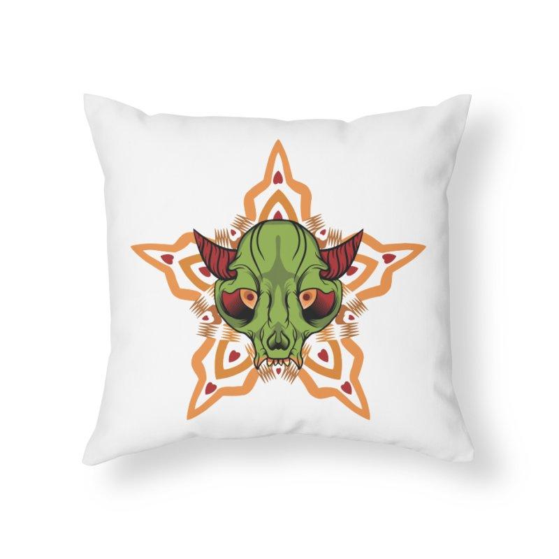 The Cumplung Home Throw Pillow by feringrh's Artist Shop