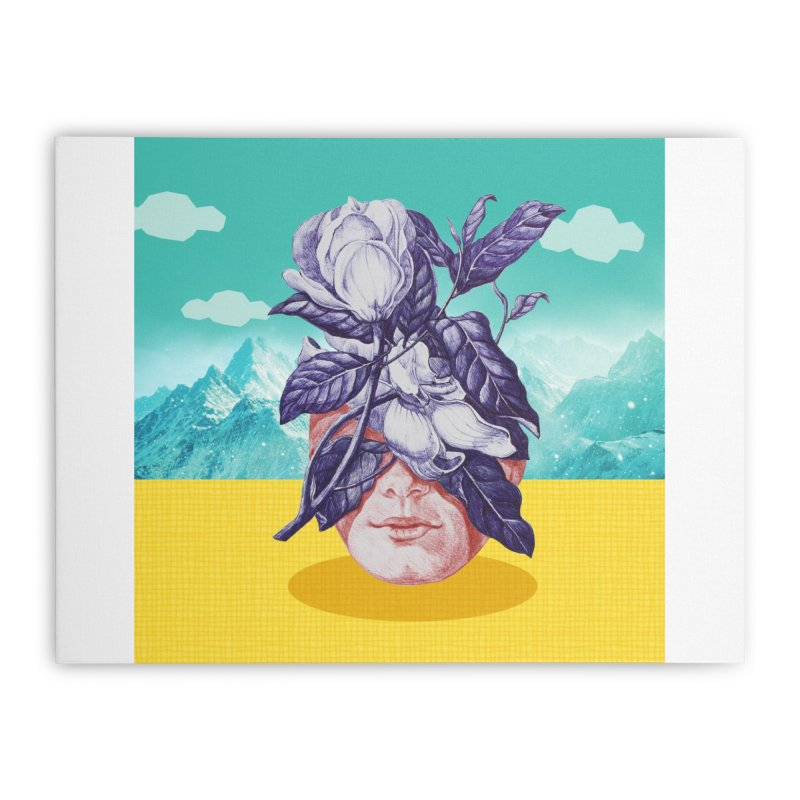 hidden face Home Stretched Canvas by ferzan's Artist Shop