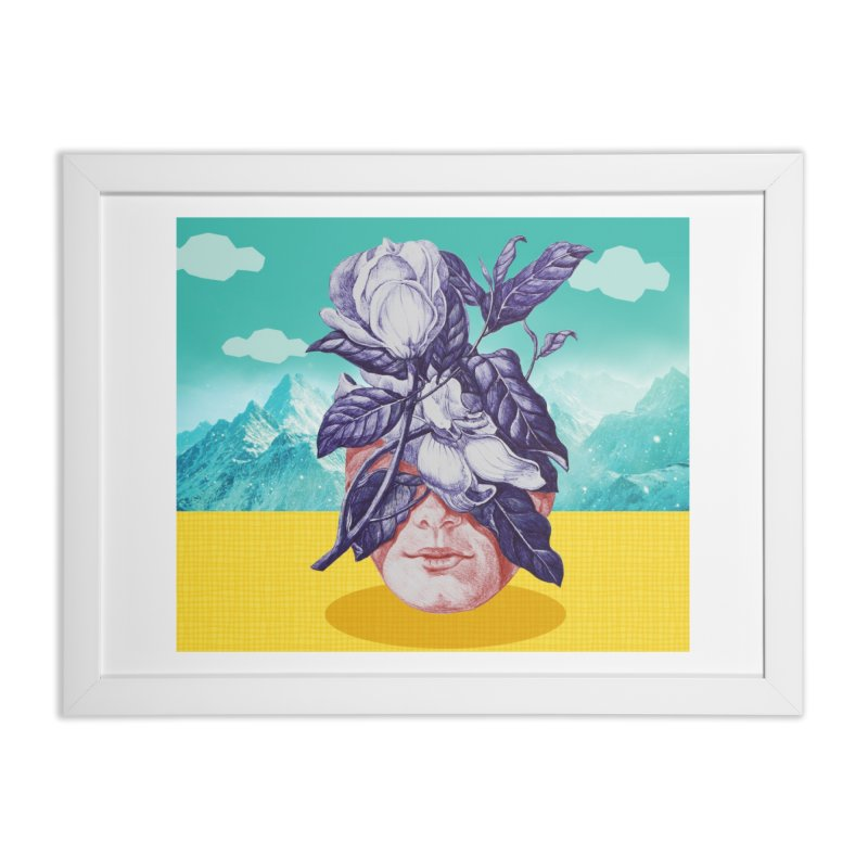 hidden face Home Framed Fine Art Print by ferzan's Artist Shop