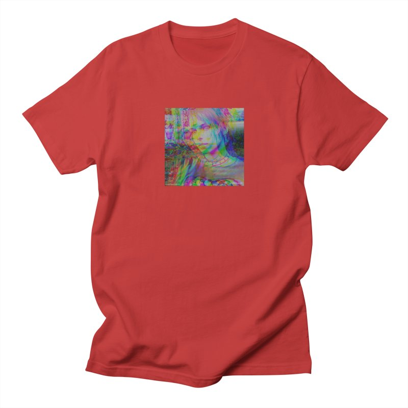 XGLITCH Men's T-Shirt by Brittany Feulner Limited   Collection