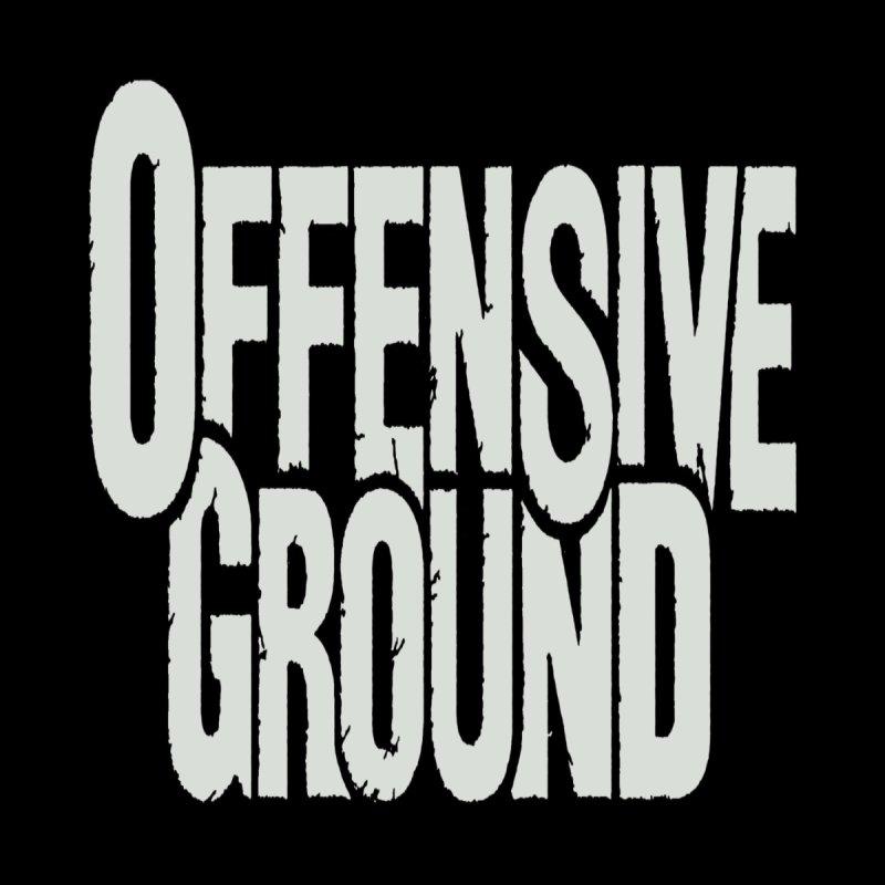 Offensive Ground - White Logo Merchandise Design Men's T-Shirt by fever_int's Artist Shop