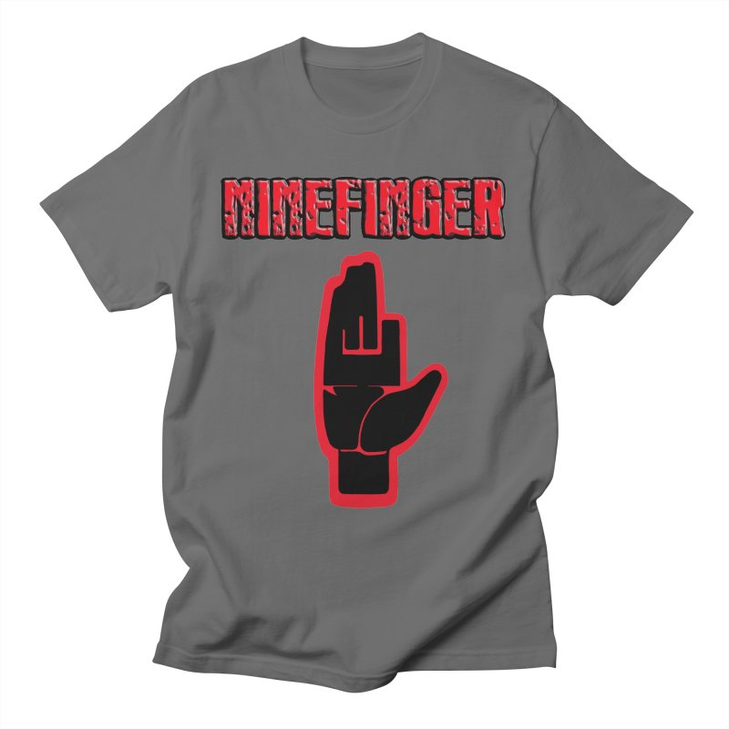 Ninefinger Logo - Merchandise Men's T-Shirt by fever_int's Artist Shop