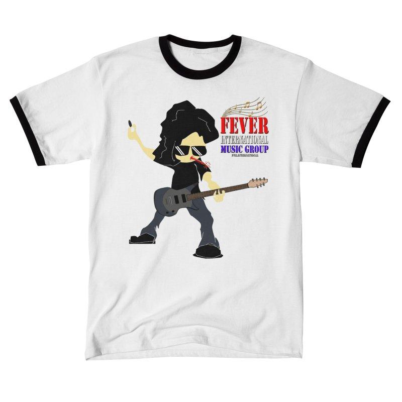 Fever International - Rocker Dude - Merch (Artist Series) Men's T-Shirt by fever_int's Artist Shop